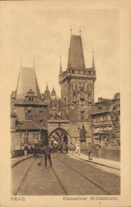 Czech Republic Prag Kleinseitner Brückenturm 02.59