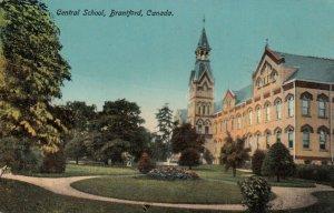 BRANTFORD , Ontario , 1916 ; Central School