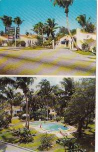 Florida Riviera Beach Spanish Courts 1958