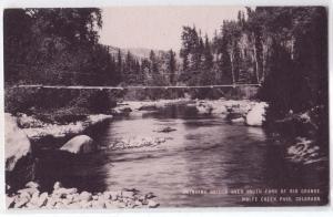 Swinging Bridge over South Fork Rio Grande, Wolfe Creek Co