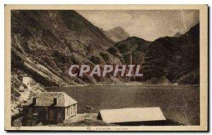 Old Postcard Luchon Lake Oo