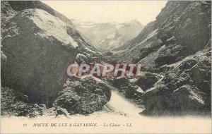 Postcard Old Luz Road has Gavarnie Chaos