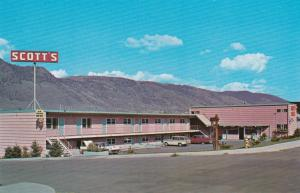 KEMLOOPS, British Columbia, Canada, 1940-60s; Scott's Motel, Classic Cars