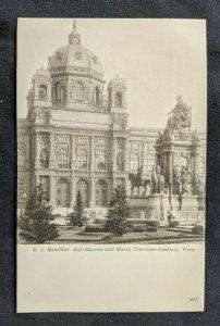 Mint Vintage The Hofburg Museum Kunsthist Vienna Austria RPPC
