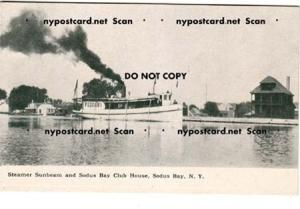 Steamer Sunbeam & Yacht Club, Sodus Point NY