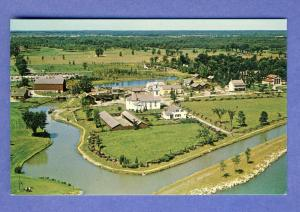 Morrisburg, Ontario, Canada Postcard,Bird's-Eye View-Village