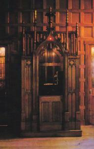 19th Century French Catholic Confessional Apple Annie's Courtyard Church Stre...