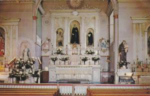 Altar of San Felipe De Neri Church, Old Albuquerque, New Mexico,   40-60s