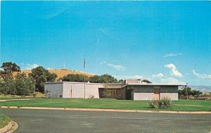 Walla Walla Washington~Whitman Mission History Museum~1950s Postcard