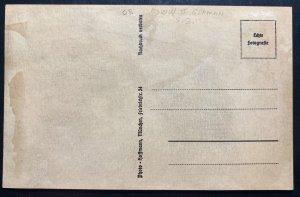 Mint Germany Real Picture Postcard WW2 German Waffen SS Machinegun Crew RPPC