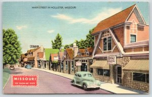 Hollister MO~Produce & Grocery Store~Harrods~Main St~1940s Car~Show-Me Series PC