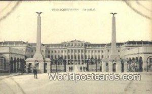 Das Schlob Wien Schonbrunn Austria Unused