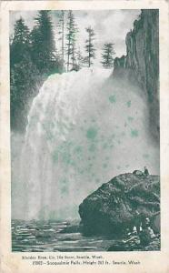Snoqualmie Falls, Seattle,Washington,PU-1907