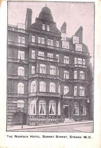Strand United Kingdom, Great Britain, England Norfolk Hotel, Surey Street Str...