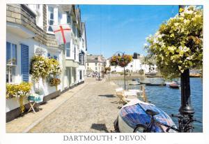 Dartmouth Devon Postcard, Bayard's Cove 38E