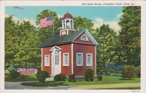 Pennsylvania York Old State House Farquhar Park Curteich