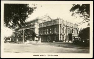 argentina, BUENOS AIRES, Teatro Colon (1930s) Theatre