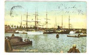 Amsterdam. oosterdok. Netherlands , PU-1907
