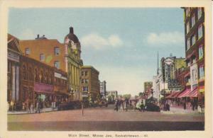 MOOSE JAW , Saskatchewan , Canada 30-40s ; Main Street