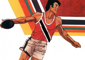 Olympics Discus BIN