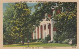 HARRODSBURG, Kentucky, 1930-1940's; Beaumont Inn