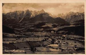 Bischofshofen Salzburg Village Mountains Panoramic view Postcard