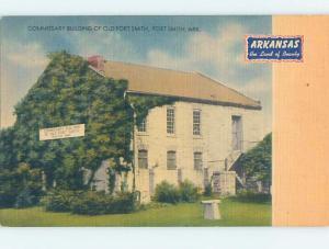 Unused Linen BUILDING Fort Smith Arkansas AR hn9016
