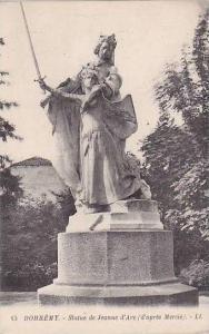 France Domremy Statue de Jeanne d'Arc