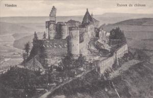 Ruines du chateau, Vianden, LUXEMBOURG, 00-10s