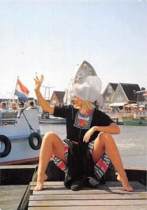 Netherlands Blonde Woman, Harbour, Monqiue Sluyter c/o Antoinette Rossum