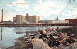 Fall River MA Barnard Cotton, Tweed & Twill Mill~Weave Shed~Now Retail 1907