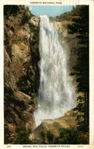 CA - Yosemite National Park. Bridal Veil Falls