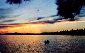 Canada - ON, Peaceful Lake Sunset