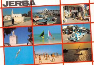 BR25811 Balade a Djerba Jerba multi views 2 scans tunisia