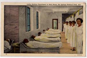 Ladies Bathing Dept. Hot Springs AK