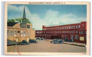 Mid-1900s Sullivan Machinery Company, Claremont, New Hampshire Postcard