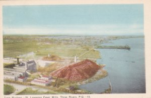 TROIS RIVIERES (Three Rivers) Quebec, Canada, 1900-10s; Bird's Eye View of St...