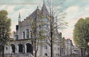 TOLEDO, Ohio, PU-1908; St. Paul's M.E. Church