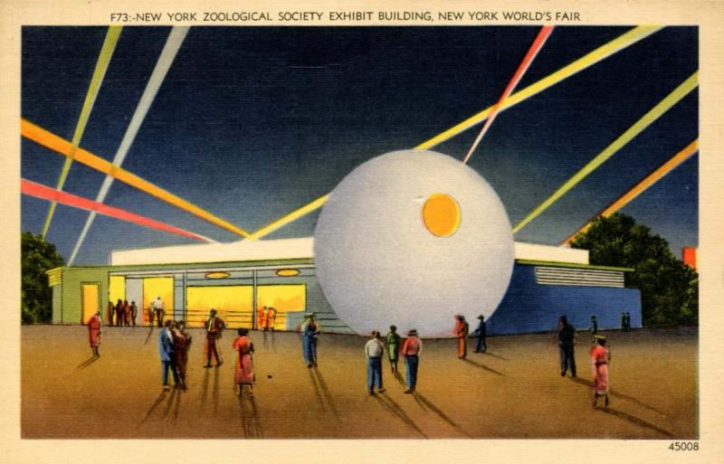 NY - New York World's Fair, 1939. New York Zoological Society Building