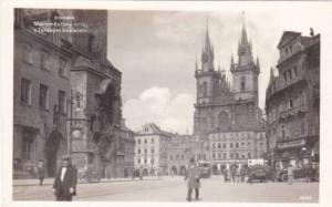 RP; PARHA: Staromesrsky ori\loj s Tynskym kostelem , Czech Republic , 20-30s