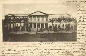 brazil, RIO DE JANEIRO, Hôtel de la Monnaie (1901)