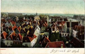 CPA GRONINGEN Panorama NETHERLANDS (604243)