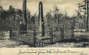 Mc Pherson Monument Atlanta GA 1906
