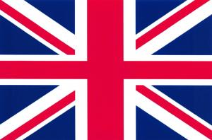 Postcard Union Jack Flag, United Kingdom Matt Matte Finish G21