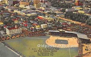 Al Lang Baseball Field St Petersburg, Florida, FL, USA 1951