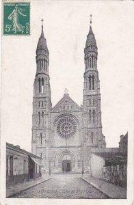 France Bordeaux L'Eglise du Sacre Coeur 1911