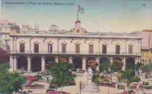Cuba Havana City Hall and Armas Plaza