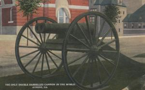 ATHENS, Georgia, 00-10s; Only Double Barreled Cannon in the World