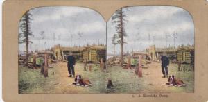SV: A Klondike Camp , Yukon , Canada , 1898