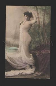078705 HERO Famous DANCER Star BODY STOCKINGS old PHOTO Tinted